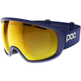"""POC Fovea Clarity Goggles Basketane Blue/Spektris Gold"""